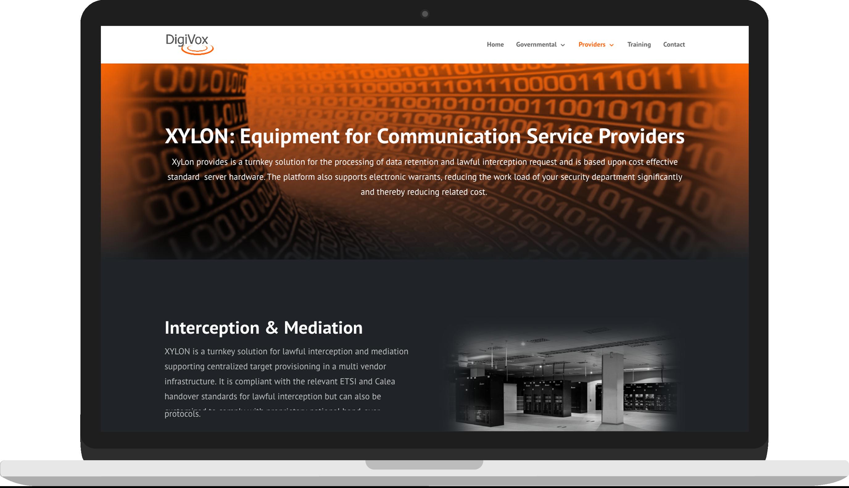 Nieuwe XYLON Productpagina